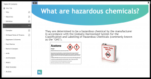 chemical safety training, chemical awareness training